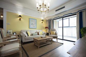 120平米三室两厅地中海风格客厅装修效果图