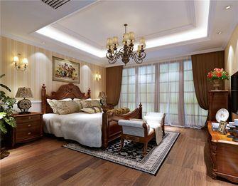 140平米四室两厅田园风格卧室装修案例