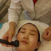 [术后1天] 第一次治疗,治疗后,皮肤不那么油腻腻,黑头也少了好多,嘱咐顾客坚持每天敷面膜,皮肤补水做得好,皮肤状态很稳定,没有痘痘,清清爽爽