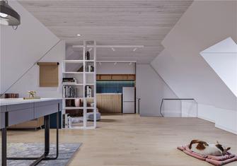 140平米三室两厅现代简约风格阁楼效果图