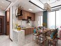 130平米公寓中式风格餐厅效果图