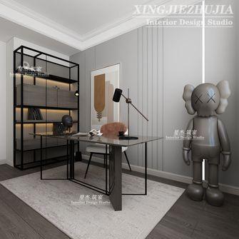 140平米四室三厅美式风格书房效果图
