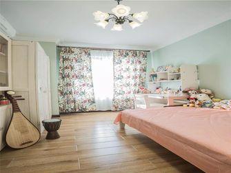 110平米三室一厅田园风格卧室欣赏图