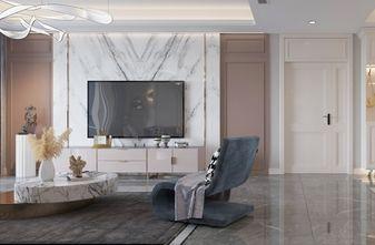 120平米三室两厅现代简约风格客厅装修案例