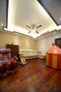 140平米别墅东南亚风格儿童房效果图
