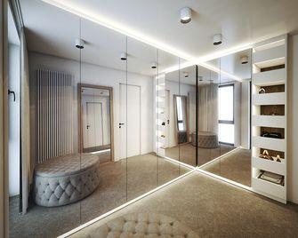 140平米四室一厅北欧风格衣帽间欣赏图