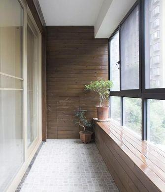 140平米四中式风格阳台设计图