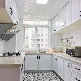80平米美式風格廚房圖片大全