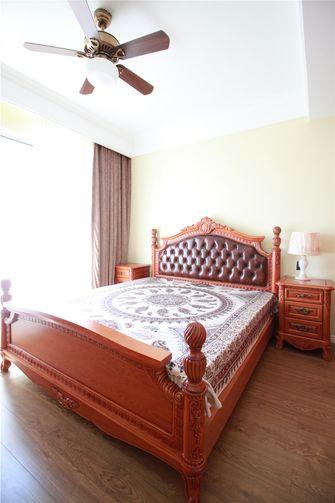 120平米三室两厅美式风格卧室装修案例