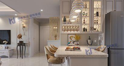 110平米三室两厅欧式风格餐厅效果图