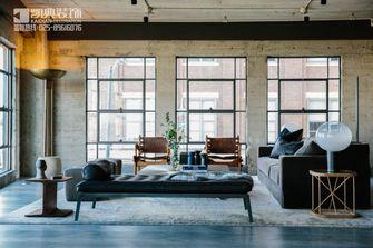 110平米三室两厅现代简约风格客厅飘窗图片大全