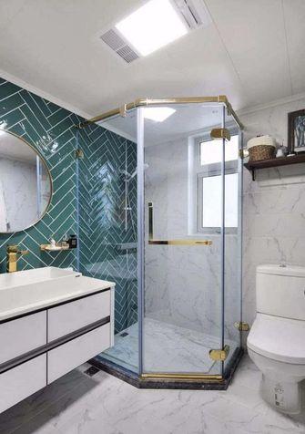 110平米一居室欧式风格卫生间欣赏图