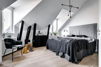 120平米复式北欧风格卧室设计图