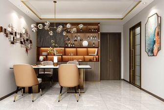 100平米三室一厅美式风格餐厅图片