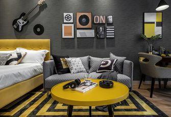 40平米小户型英伦风格客厅装修图片大全