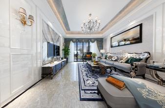 130平米四室两厅欧式风格客厅设计图