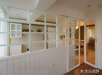 110平米三室一厅田园风格走廊欣赏图