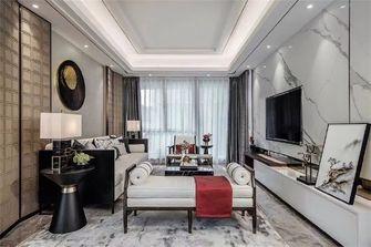 120平米三室两厅新古典风格客厅图片大全