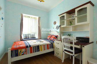 80平米三室两厅地中海风格卧室装修图片大全