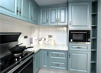 130平米三室三厅美式风格厨房设计图