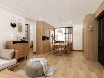 100平米一室两厅日式风格餐厅图