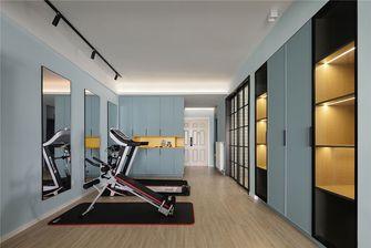 120平米三室两厅北欧风格健身室图