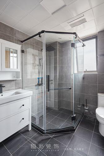 10-15万130平米三室两厅北欧风格卫生间装修案例