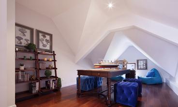 20万以上140平米别墅欧式风格阁楼装修效果图