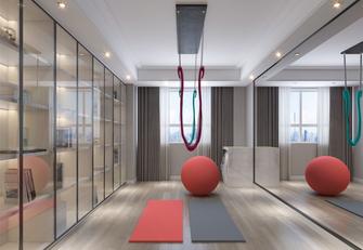 140平米四英伦风格健身室设计图