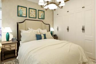 130平米三田园风格卧室装修案例