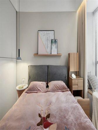80平米现代简约风格卧室图片大全