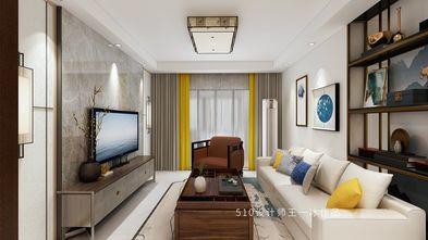 100平米三室两厅中式风格客厅图