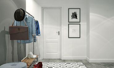 60平米一居室北欧风格玄关图