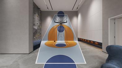 140平米复式北欧风格健身室图片大全