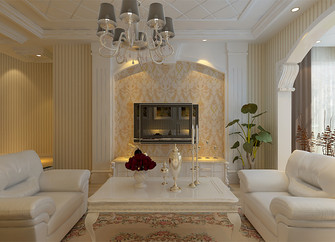 60平米欧式风格阁楼设计图