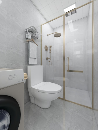 50平米公寓欧式风格卫生间装修效果图