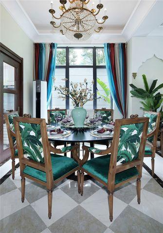 70平米东南亚风格餐厅欣赏图