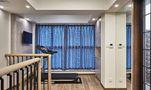 120平米三混搭风格健身室设计图
