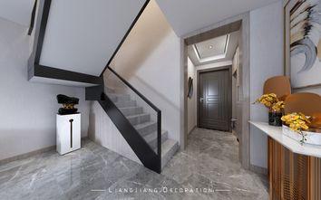 140平米复式混搭风格楼梯间效果图