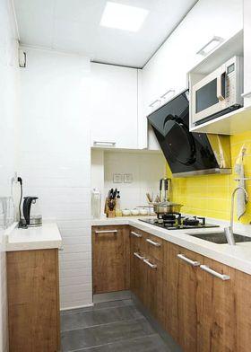 80平米混搭风格厨房装修效果图