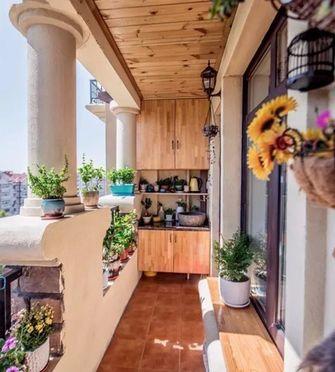 130平米三欧式风格阳台装修案例