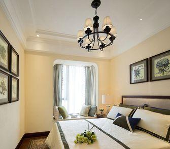 140平米三室两厅东南亚风格卧室图片大全