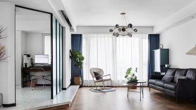 120平米三室两厅中式风格客厅图片