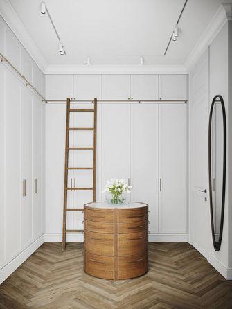 90平米三室一厅现代简约风格衣帽间图片