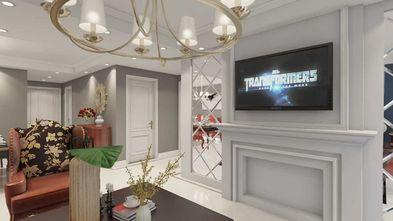 80平米新古典风格客厅图