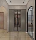 140平米别墅日式风格衣帽间图片