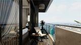 70平米公寓中式风格阳台图片