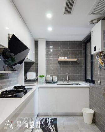 90平米三室两厅中式风格厨房效果图