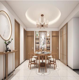 130平米四中式风格餐厅图