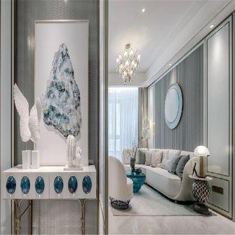 100平米三室一厅英伦风格玄关设计图